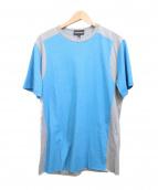 EMPORIO ARMANI(エンポリオアルマーニ)の古着「プリントTシャツ」|ブルー