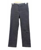 FRANK LEDER(フランクリーダー)の古着「ジャーマンレザーパンツ」|ブラック