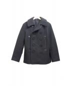 Buzz Ricksons(バズリクソンズ)の古着「Pコート」 ブラック