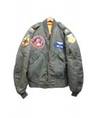 Buzz Ricksons(バズリクソンズ)の古着「L-2Bフライトジャケット」 カーキ