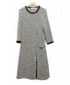 Christian Dior(クリスチャン ディオール)の古着「カシミヤ混ワンピース」