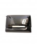 MIU MIU(ミュウミュウ)の古着「2つ折り財布」|ブラック