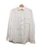 H.R.MARKET(ハリウッドランチマーケット)の古着「ガーゼシャツ」|ホワイト