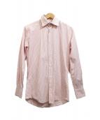 JIL SANDER(ジルサンダー)の古着「ストライプシャツ」|ピンク