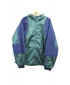 THE NORTH FACE PURPLE LABEL(ザノースフェイス パープルレーベル)の古着「マウンテンウインドパーカー」 ネイビー×グリーン