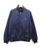 VAN JAC(ヴァンジャケット)の古着「スイングトップ」|ネイビー