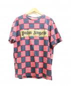 Palm Angels(パーム・エンジェルス)の古着「星条旗プリントTEE」|レッド