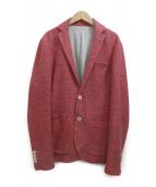 eleventy(イレブンティ)の古着「コットンジャケット」|ピンク