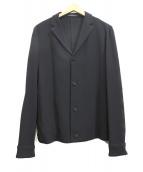 EMPORIO ARMANI(エンポリオアルマーニ)の古着「アンコンジャケット」|ブラック