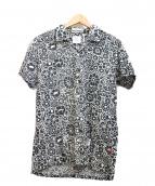 BEDWIN(ベドウィン)の古着「プリント開襟シャツ」|グリーン