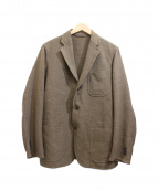 COMOLI(コモリ)の古着「ウールリネンジャケット」 ブラウン