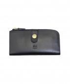 IL BISONTE(イルビゾンテ)の古着「2つ折り長財布」