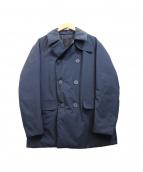 DESCENTE PAUSE(デサントポーズ)の古着「ダウンPコート」|ネイビー
