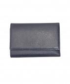 JIL SANDER(ジルサンダー)の古着「3つ折り財布」|ネイビー