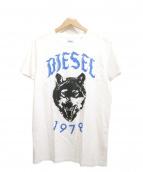 DIESEL(ディーゼル)の古着「ウルフプリントTEE」