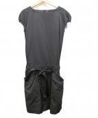 ANTEPRIMA(アンテプリマ)の古着「ブラウスワンピース」|ブラック