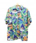 reyn spooner(レイン スプナー)の古着「アロハシャツ」|ネイビー
