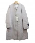 SLOBE IENA(スローブ イエナ)の古着「ノーカラーコート」|グレー