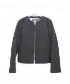SONIA RYKIEL(ソニアリキエル)の古着「キルティングブルゾン」|ブラック