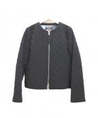 SONIA RYKIEL(ソニア リキエル)の古着「キルティングブルゾン」|ブラック