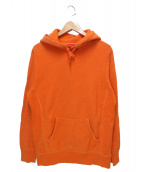 Supreme(シュプリーム)の古着「オーバダイドフーデットスウェットシャツ」 オレンジ