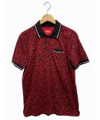 Supreme(シュプリーム)の古着「ポロシャツ」|レッド×ブラック