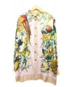 HERMES(エルメス)の古着「スカーフ柄シルクブラウス」|マルチカラー