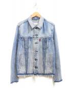 LEVIS ALTERED(リーバイス オルタード)の古着「トラッカージャケット」 ブルー