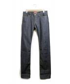 STRONG HOLD(ストロングホールド)の古着「復刻デニムパンツ」|インディゴ