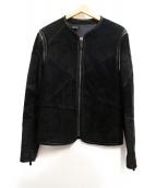 N.HOOLYWOOD(エヌハリウッド)の古着「スウェードジャケット」|ブラック