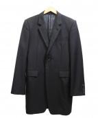 JOHN LAWRENCE SULLIVAN(ジョンローレンスサリバン)の古着「チェスターコート」|ブラック