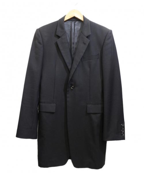 JOHN LAWRENCE SULLIVAN(ジョンローレンスサリバン)JOHN LAWRENCE SULLIVAN (ジョンローレンスサリバン) チェスターコート ブラック サイズ:36の古着・服飾アイテム