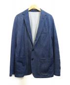 MENS BIGI(メンズビギ)の古着「アンコンジャケット」|ネイビー