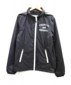 Franklin & Marshall(フランクリン&マーシャル)の古着「ナイロンジャケット」 ブラック