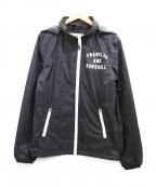 Franklin & Marshall(フランクリンマーシャル)の古着「ナイロンジャケット」|ブラック