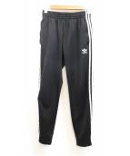 adidas(アディダス)の古着「ジャージパンツ」|ブラック