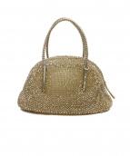 ANTEPRIMA(アンテプリマ)の古着「ミニボストンバッグ」|ゴールド