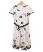 MS GRACY(エムズグレイシー)の古着「ブラウスワンピース」 ピンク
