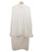 MIHARA YASUHIRO(ミハラヤスヒロ)の古着「ロングシャツ」 ホワイト