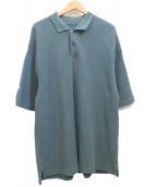crepuscule(クレプスキュール)の古着「ニットポロシャツ」|グリーン