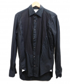 giannetto(ジャンネット)の古着「ブザムシャツ」|ブラック