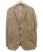 AT.P.CO(アティピコ)の古着「コーデュロイテーラードジャケット」|ベージュ