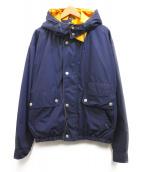MIGHTY-MAC(マイティーマック)の古着「フーデッドジャケット」|ネイビー