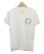 CHROME HEARTS(クロムハーツ)の古着「CHクロスプリントTシャツ」|ホワイト