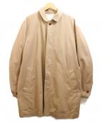 RINEN(リネン)の古着「ロングコート」|ベージュ