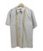 Patagonia(パタゴニア)の古着「半袖ジップシャツ」|グレー