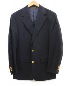 Brooks Brothers(ブルックスブラザーズ)の古着「金釦2Bブレザー」 ネイビー