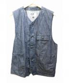 Engineered Garments(エンジニアドガーメンツ)の古着「デニムベスト」