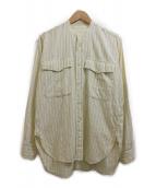 MOUNTAIN RESEARCH(マウンテンリサーチ)の古着「Farmers Shirt」|ベージュ