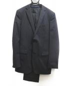 BURBERRY BLACK LABEL(バーバリーブラックレーベル)の古着「3ピーススーツ」|ブラック